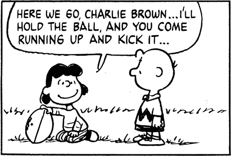 Gormless Charlie Brown